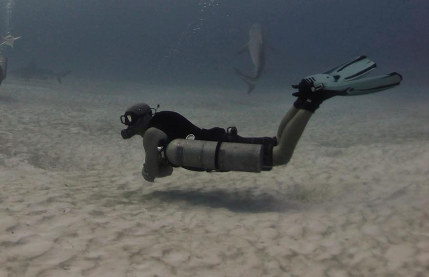 Discover Sidemount Recreational diving courses in Lanzarote