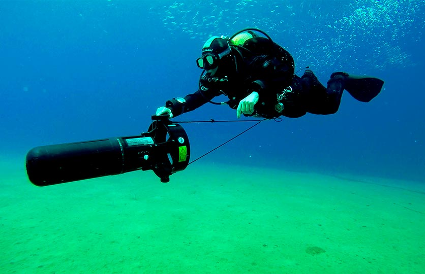 Basic Scooter Diver Course Recreational diving courses in Lanzarote