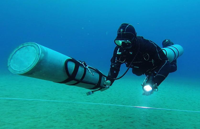 Basic Sidemount Course Recreational diving courses in Lanzarote