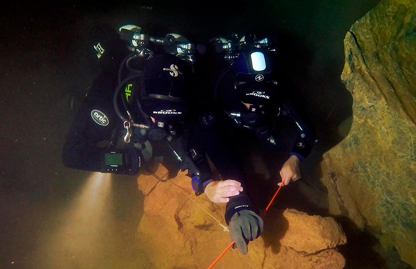 Full Cave Diving Liquid-Planet